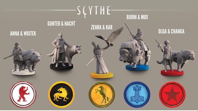 scyhte-player-miniatures